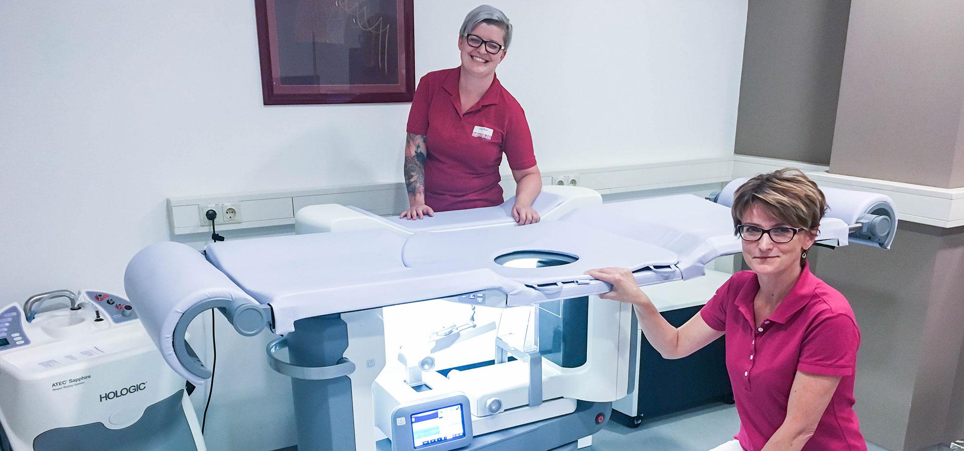 Biopsietisch | Brustzentrum Passau