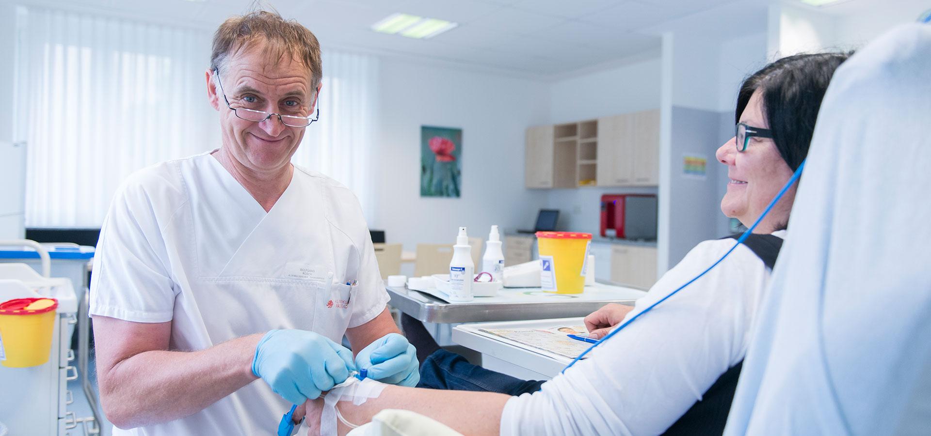Termin bei der Schmerztherapie | Brustzentrum Passau
